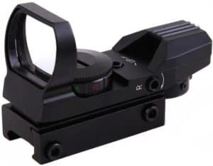 Ohuhu Red Dot and 4 Reticles Red Green Dot Gun Sight