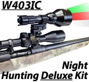 Wicked Lights W403IC Deluxe Night Hunting Kit